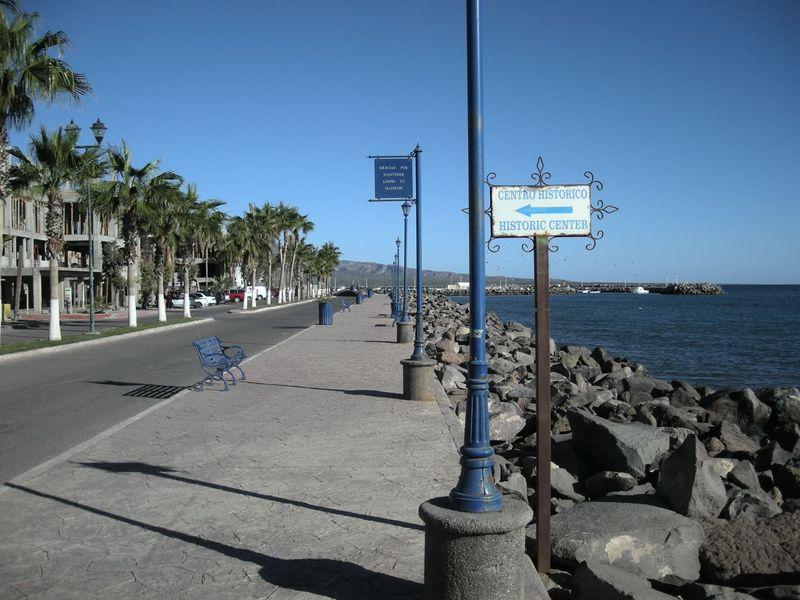 Loreto waterfront