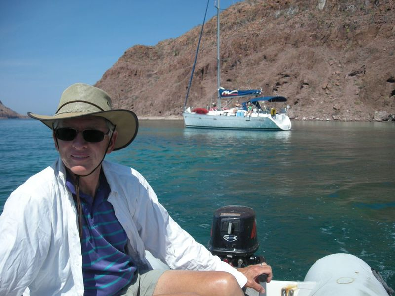 Sail, Gary in dinghy