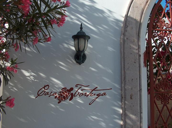 Casa Tortuga over buzón