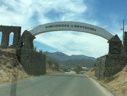 Moctezuma arch