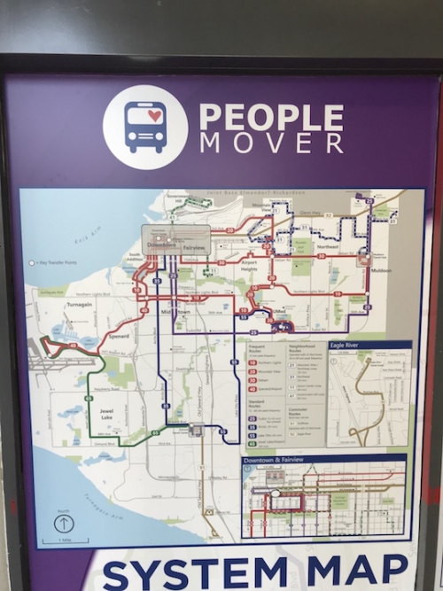 Anchorage bus map