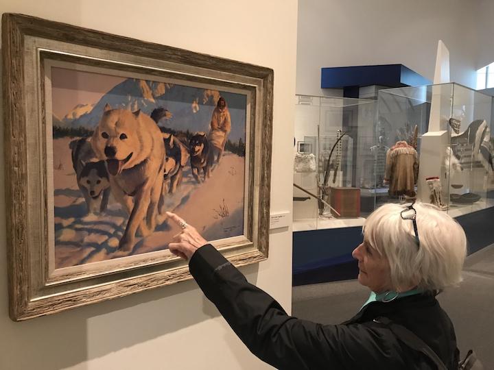 Fairbanks Museum dogs' eyes