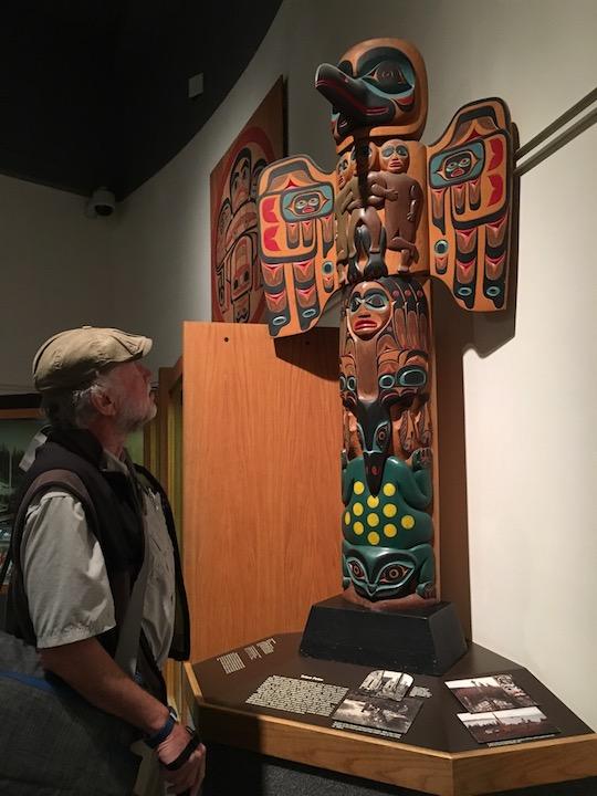 Fairbanks Museum Totem