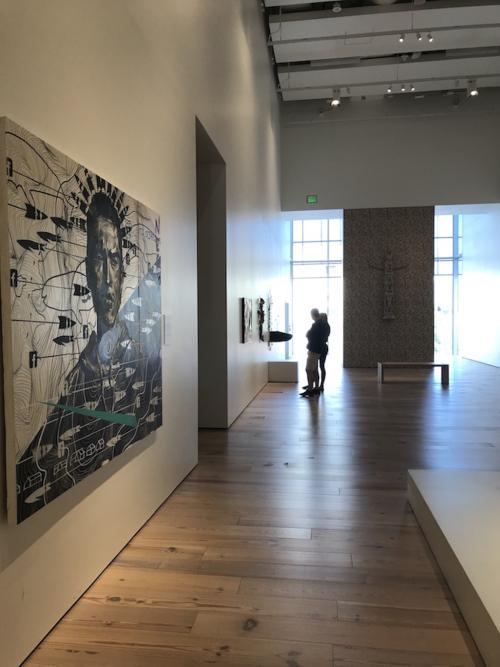 Anchorage Museum hallway