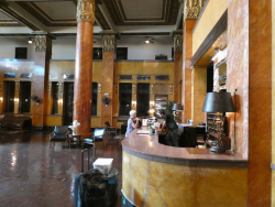 Douglas Hotel Stairs