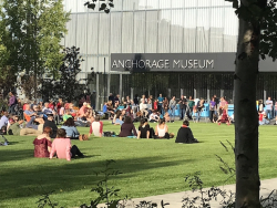 Anchorage Museum outside