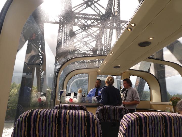 Train and bridge