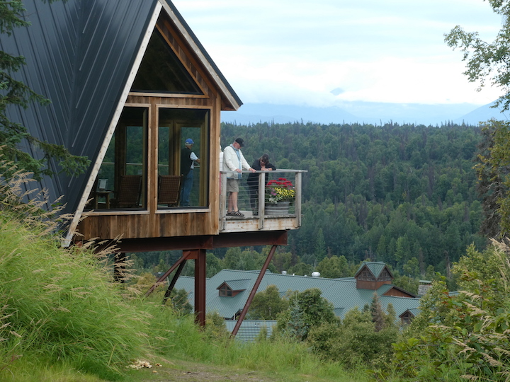 Talkeetna Lodge Treehouse 4