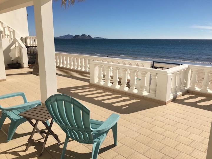Beach from veranda