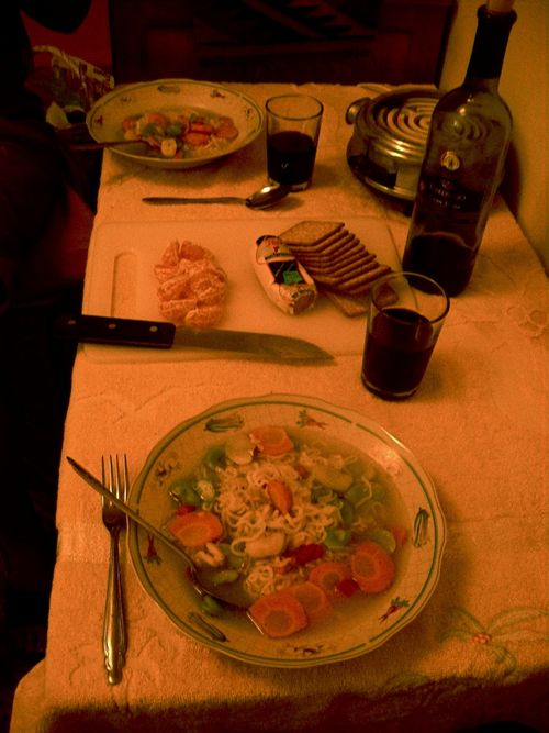 36 - Dinner at home