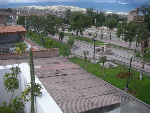 02 Derek has a great view of Ayacucho