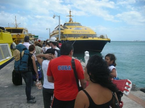 02 - Ferry to Isla Mujeres