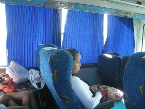 07 - On the bus to Playa del