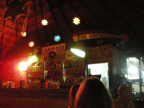 """25 - """"Barmacia"""" at El Cruzero in Tulúm"""
