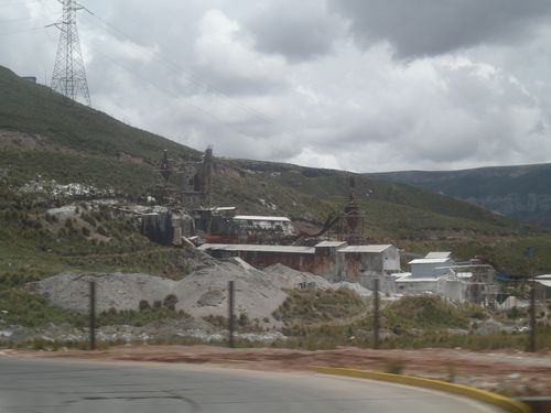33 Mines around La Oroya